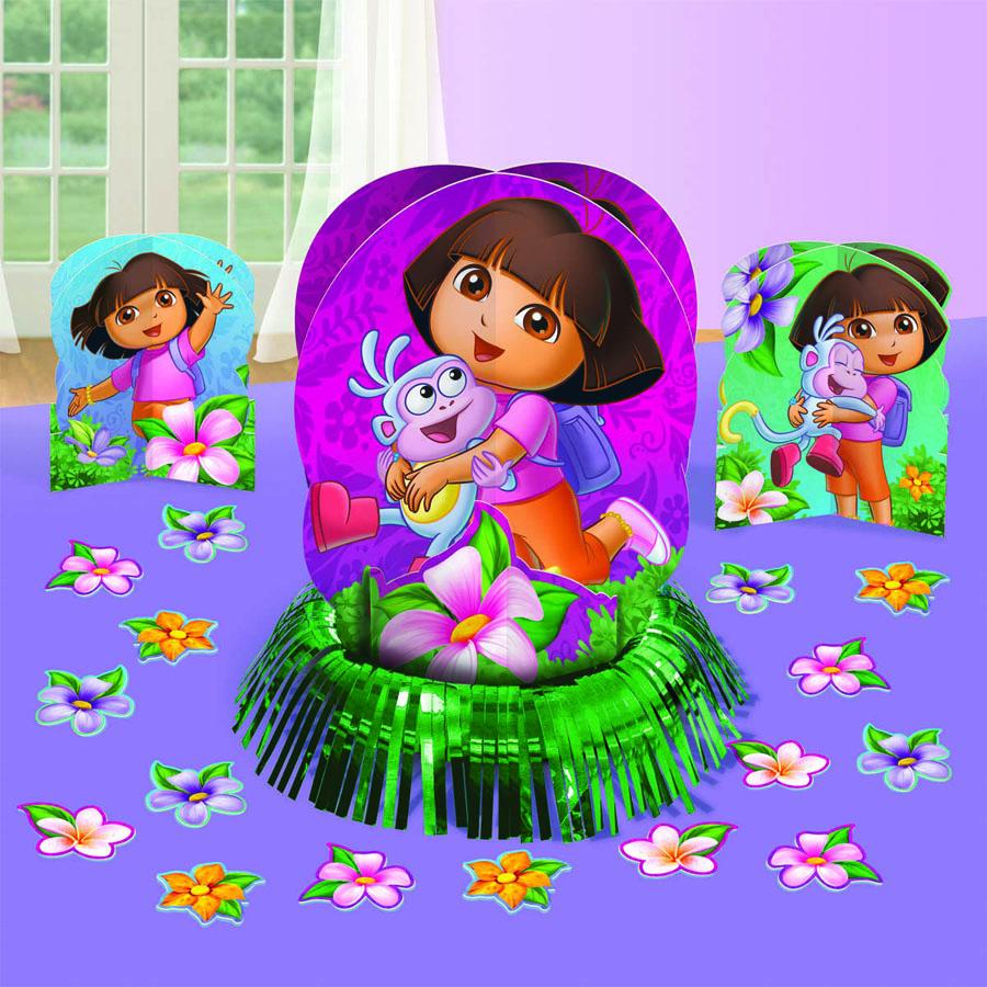 Amscan Набор для декора настольный Даша-путешественница набор для росписи тарелки даша и башмачок 65120