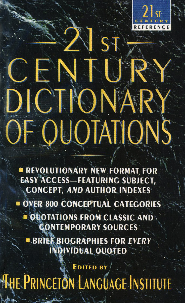 21st Century Dictionary of Quotations wells david the penguin dictionary of curious and interesting numbers