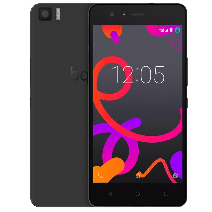 BQ Aquaris M5 16+3GB, BlackC000084Производительный смартфон BQ Aquaris M5 оснащен 8-ядерным процессором Qualcomm Snapdragon 615 с частотой 1.5 ГГц. Он работает под управлением Android 5.1 Lollipop и поддерживает высокоскоростной стандарт сотовой связи 4G. Два слота для micro-SIM карт позволяют пользоваться услугами двух разных операторов мобильной связи.Отклик на нажатие был улучшен благодаря сенсору Atmel maXTouch, который увеличивает чувствительность экрана и позволяет без каких-либо помех пользоваться телефоном в перчатках или во влажных условиях. Также этот сенсор может распознавать до 10 одновременных точек нажатия. Использование технологии Quantum Color + позволило достигнуть отличных показателей цветового спектра (почти 90% NTSC). Сам экран покрыт трехслойным покрытием GFF (Glass-Film-Film) с защитным слоем Dragontrail.Фронтальная камера 5 Мпикс с углом обзора 85° и вспышкой позволяет снимать отличные селфи. Основная камера разрешением 13 Мпикс имеет диафрагму f/2.0 и двойную вспышку, что дает вам возможность делать качественные снимки даже при плохом освещении. Вы также можете снимать видео Full HD или в замедленном режиме со скоростью 120 кадров/с.Превосходное качество звука обеспечивается сочетанием аудиочипа Cirrus Logic и технологии Dolby, отвечающей за создание эффекта окружающего звучания. Чип Cirrus Logic сохраняет уровень качества сигнала для достижения звука уровня Hi-Fi. Для улучшения разговоров по телефону была также добавлена система подавления шума с дополнительным микрофоном.Смартфон BQ Aquaris M5 оснащен технологией NFC (Near Field Communication), которая позволяет двум мобильным устройствам, находящимся близко друг от друга, взаимодействовать между собой и обмениваться данными. Вы также сможете пользоваться системами оплаты, использующими протокол HCE (Host Card Emulation).Операционная система Android Lollipop предоставляет пользователям интуитивный интерфейс. Вы можете управлять и настраивать уведомления или даже просматривать их на заблокир