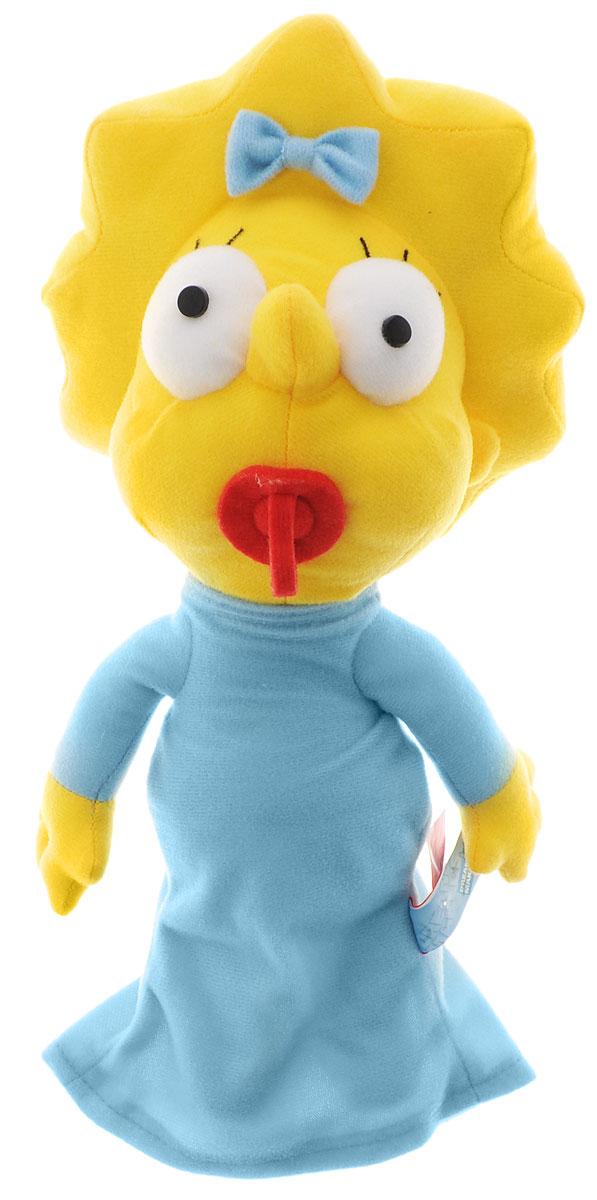 Simpsons Мягкая игрушка Мэгги Симпсон цвет желтый голубой 27 см кукла мэгги