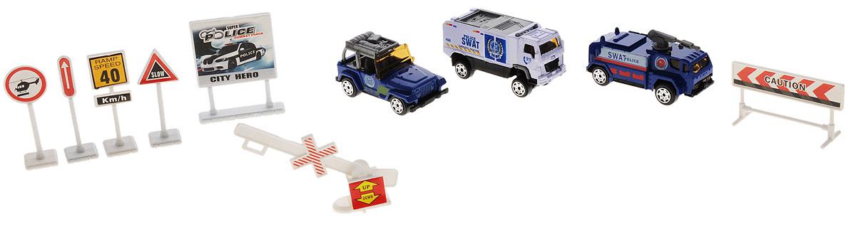 Big motors Игровой набор Полицейская служба