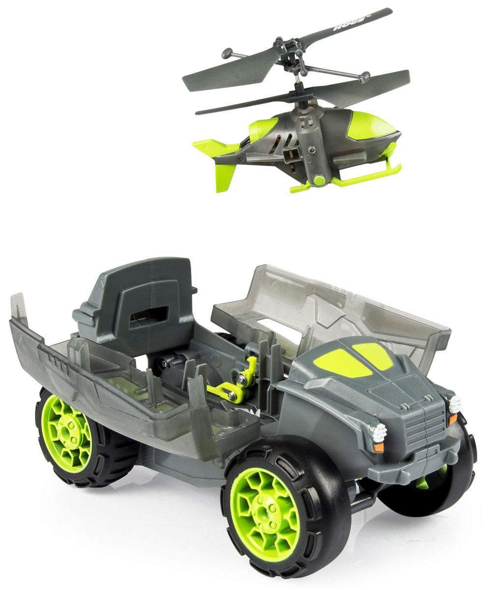 Air Hogs Игровой набор на радиоуправлении Бронемашина с вертолетом-разведчиком купить вертолет на пульте управления в костроме