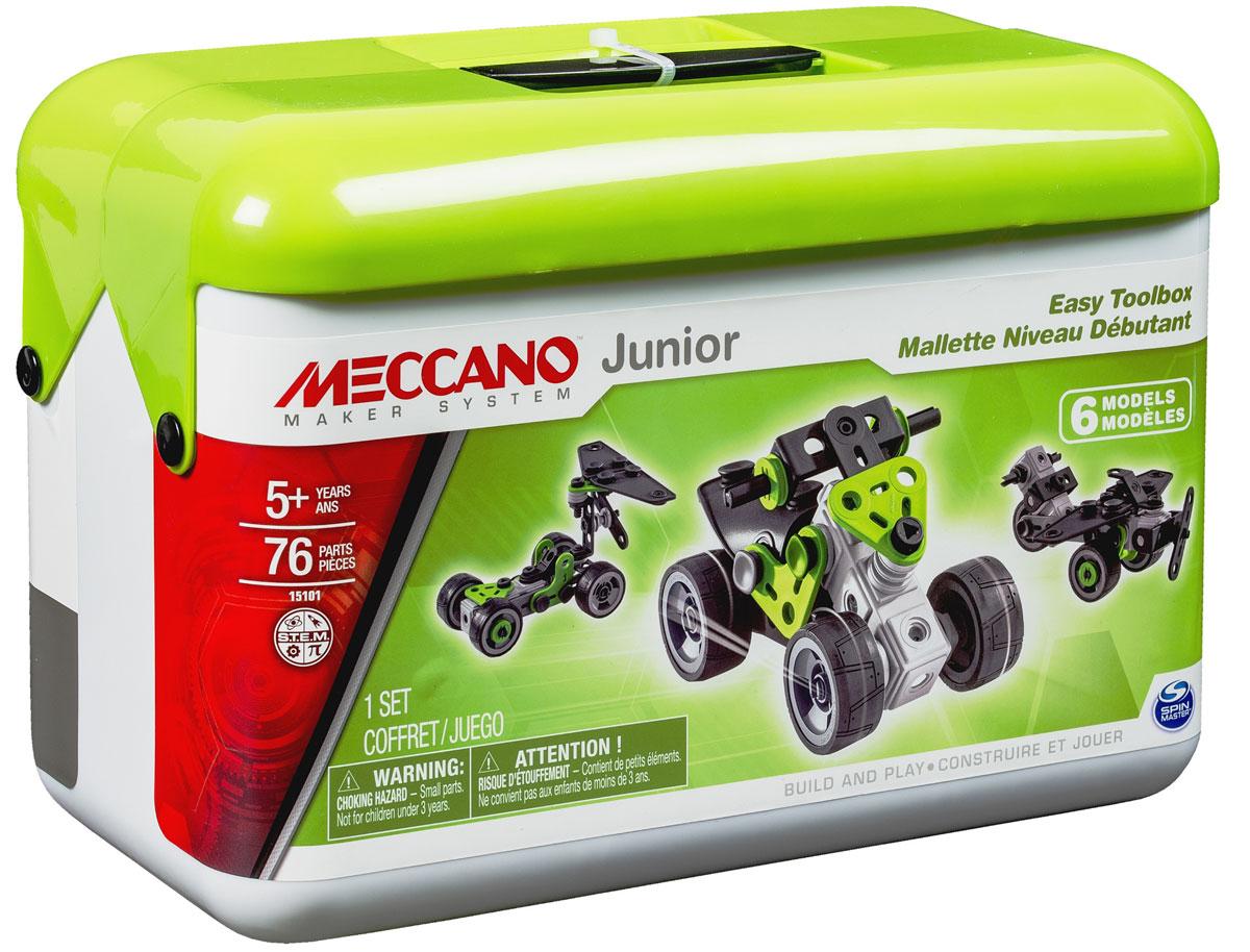 Meccano Конструктор Квадроцикл 6 в 1 конструкторы meccano игрушка meccano гоночная машина р у 2 модели