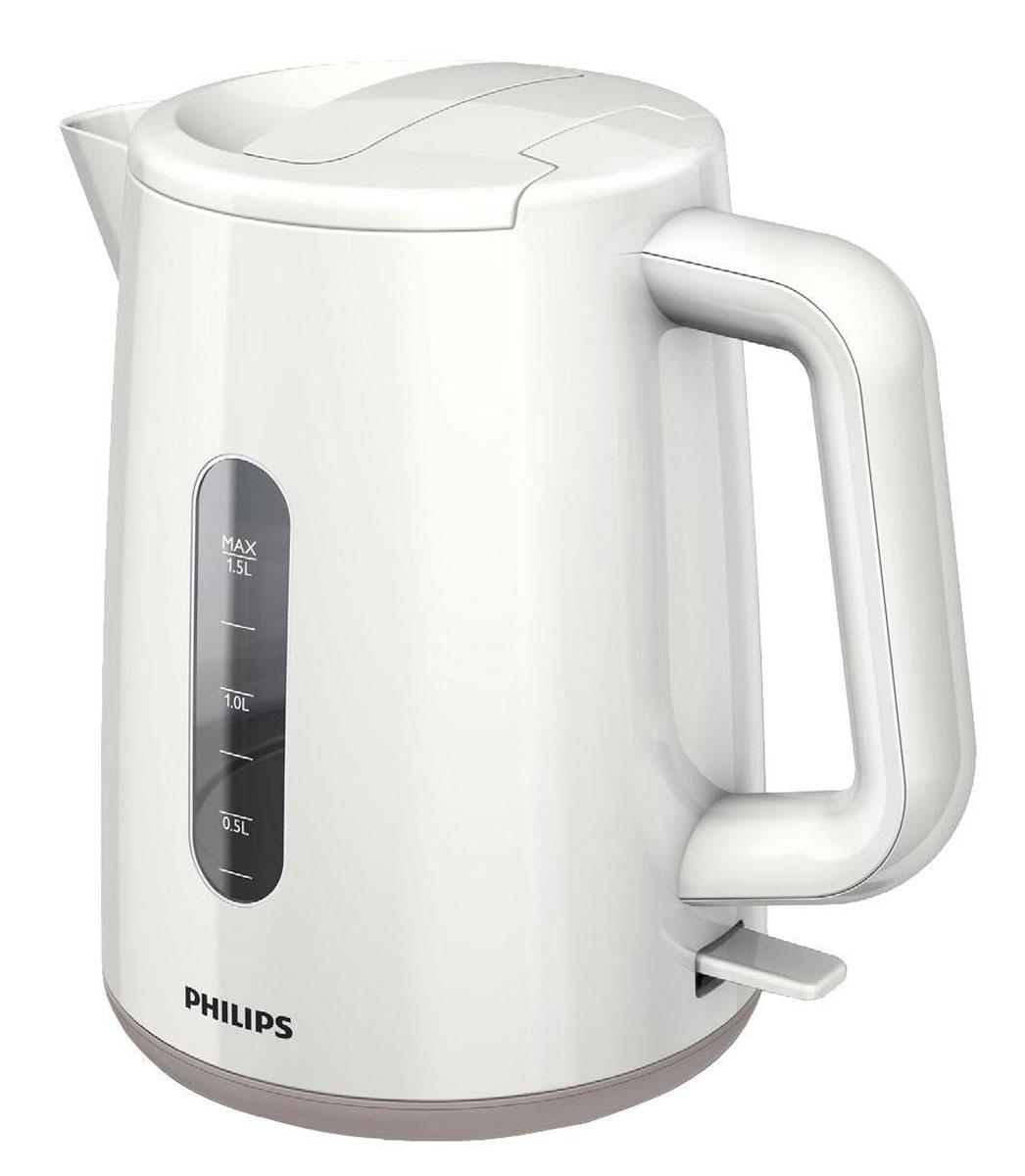 Philips HD9300/00 электрочайникHD9300/00Не правда ли, здорово за считаные секунды вскипятить воду и без лишних усилий очистить чайник? Плоский и удобный в очистке нагревательный элемент позволяет быстро вскипятить воду. Благодаря моющемуся фильтру от накипи вода становится чистой, а напитки - без частиц известкового осадка. Удобное наполнение через носик/крышку Наполнить чайник можно через носик или открыв крышку. Широко открывающаяся откидная крышка для удобства наполнения и чистки чайника Широко открывающаяся откидная крышка для удобства наполнения и чистки чайника исключает контакт с паром. Индикаторы уровня воды с двух сторон чайника Индикаторы уровня воды по обеим сторонам электрического чайника Philips будут удобны и для правшей, и для левшей. Катушка для удобного хранения шнура Шнур оборачивается вокруг основания, что позволяет легко разместить чайник на кухне. Беспроводная подставка с поворотом на 360° для удобства использования. Фильтр для защиты от накипи Фильтр для защиты от накипи обеспечивает чистоту воды и чайника. Плоский нагревательный элемент для быстрого кипячения воды и легкой чистки Встроенный нагревательный элемент из нержавеющей стали обеспечивает быстрое кипячение и простую чистку. Комплексная система безопасности Комплексная система безопасности для предотвращения короткого замыкания и выкипания воды. Функция автовыключения активируется, когда процесс завершается или прибор снимается с основания.