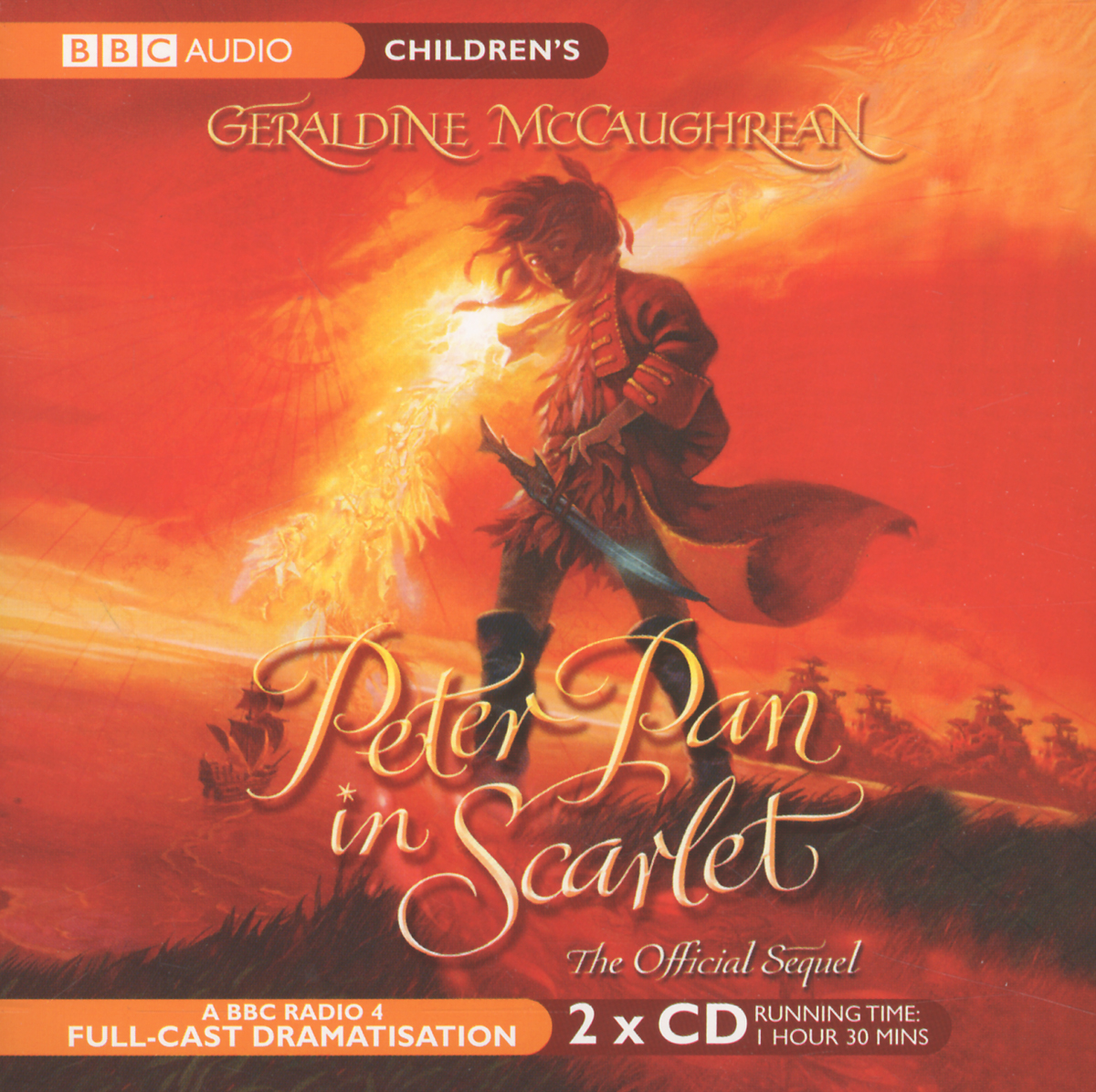 Peter Pan In Scarlet (аудиокнига на 2 CD) doyle a a study in scarlet