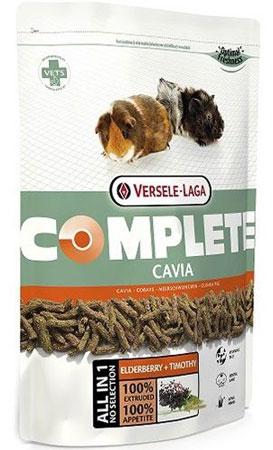 Корм для морских свинок Versele-Laga Cavia Complete, комплексный, 500 г versele laga корм для грызунов versele laga crispi cavia для морских свинок 0 4 кг