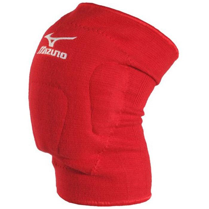 Наколенники волейбольные Mizuno  VS1 kneepad , цвет: красный, 2 шт. Размер L - Волейбол