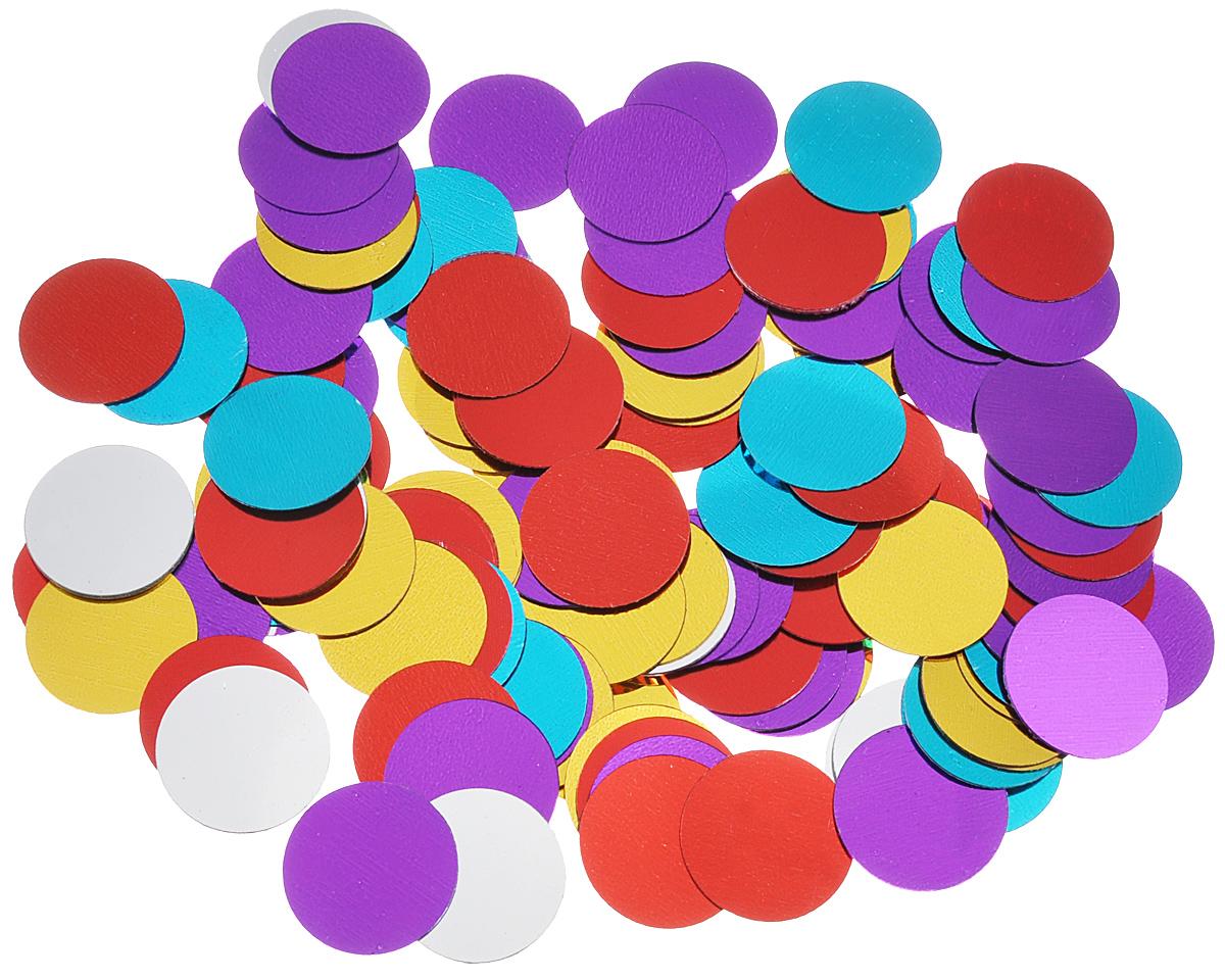 Новогоднее конфетти Феникс-презент Цветные кружки, диаметр 2 см, 15 г30953Новогоднее конфетти Феникс-презент Цветные кружки создаст праздничное настроение, сделает праздник ярким и незабываемым.Новогодние украшения всегда несут в себе волшебство и красоту праздника. Создайте в своем доме атмосферу тепла, веселья и радости, украшая его всей семьей.