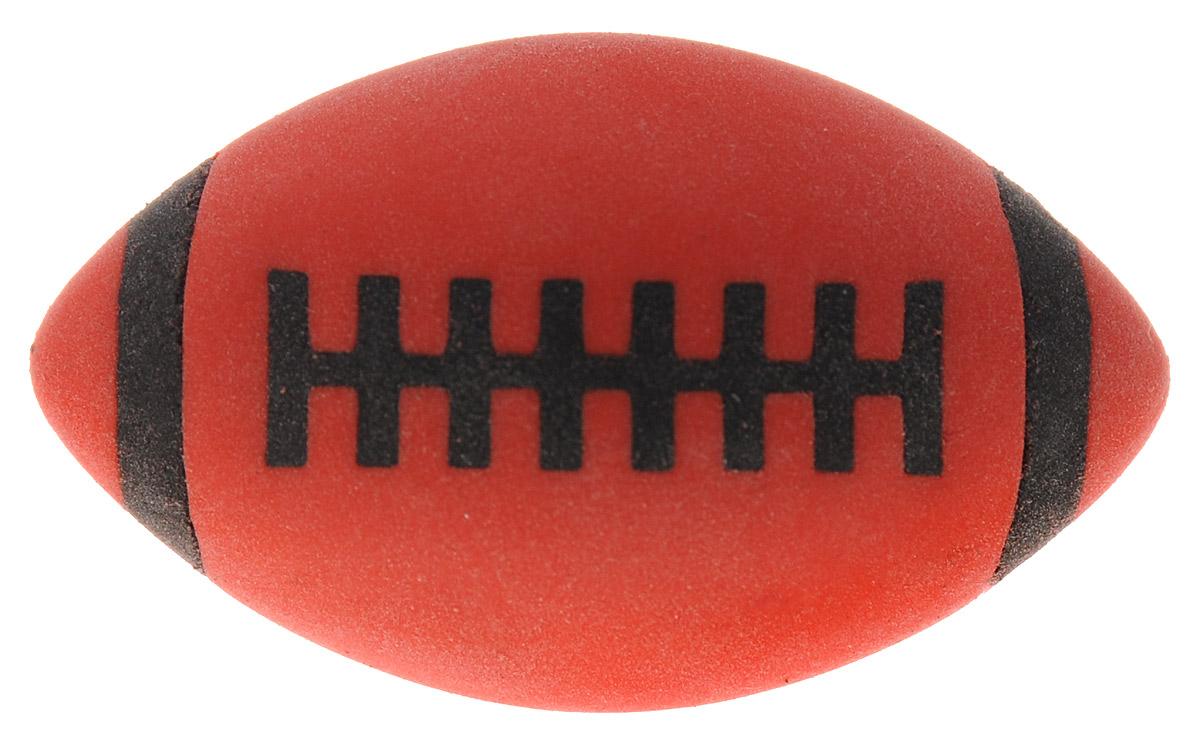 Brunnen Ластик Мяч для регби цвет красный62155_красный регбиЛастик Brunnen Мяч для регби станет незаменимым аксессуаром на рабочем столе не только школьника или студента, но и офисного работника. Он легко и без следа удаляет надписи, сделанные карандашом. Ластик имеет форму и окраску в стиле мяча для регби, поэтому его очень удобно держать в руке.