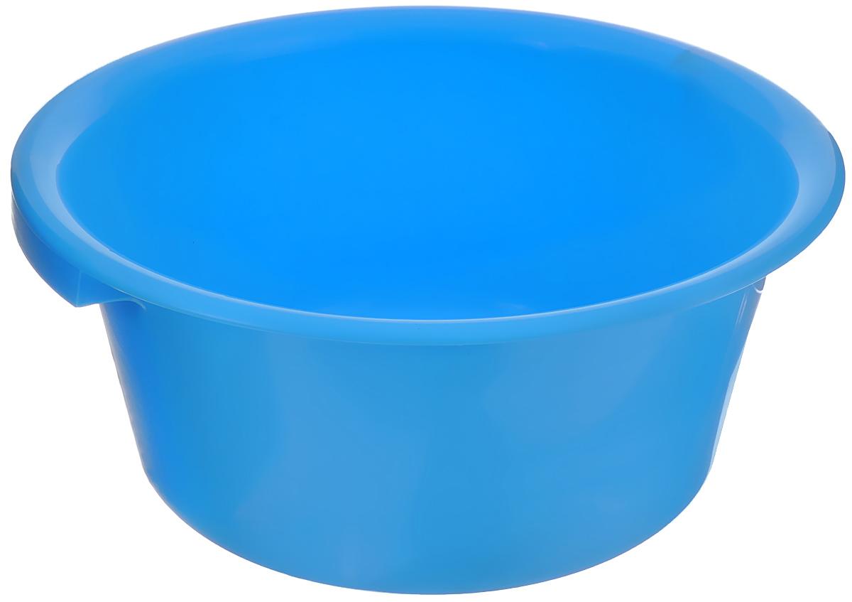 Таз хозяйственный Альтернатива, цвет: голубой, 9 лМ1106_голубойТаз Альтернатива изготовлен из высококачественного пластика. Он выполнен в классическом круглом варианте. Для удобного использования изделие снабжено двумя ручками. Таз предназначен для стирки и хранения разных вещей. Он пригодится в любом хозяйстве.Диаметр (по верхнему краю): 35 см.Высота: 15 см.
