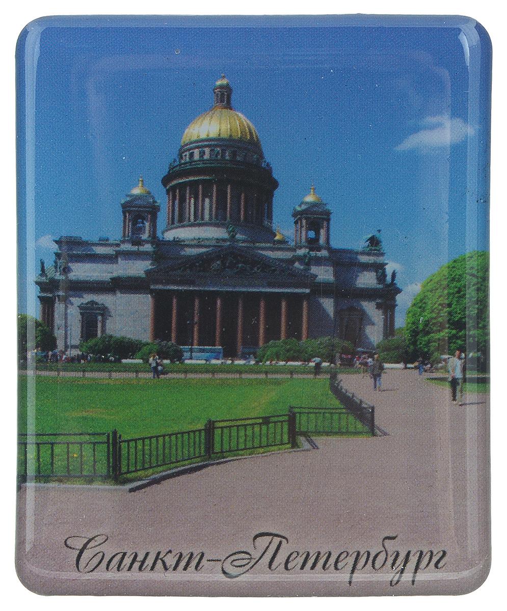 Магнит Феникс-презент Санкт-Петербург, 4,5 x 5,5 см17242Магнит прямоугольной формы Феникс-презент Санкт-Петербург, выполненный из агломерированного феррита, станет приятным штрихом в повседневной жизни. Оригинальный магнит, декорированный пейзажем Санкт-Петербурга, поможет вам украсить не только холодильник, но и любую другую магнитную поверхность. Материал: агломерированный феррит.