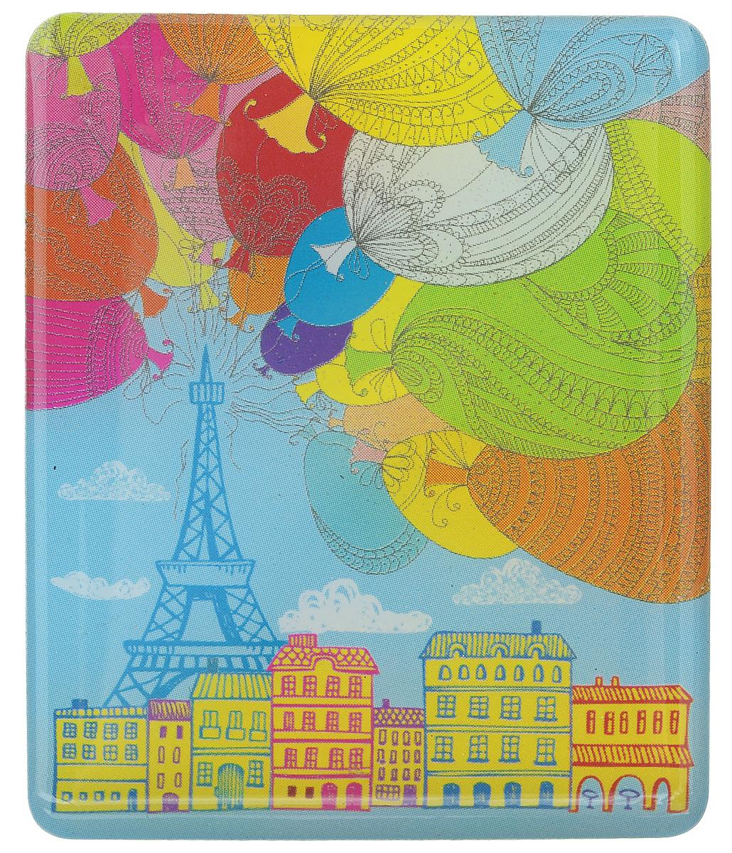 Магнит Феникс-презент Париж, 4,5 x 5,5 см27192Магнит прямоугольной формы Феникс-презент Париж, выполненный из агломерированного феррита, станет приятным штрихом в повседневной жизни. Оригинальный магнит, декорированный изображением Эйфелевой башни и воздушных шаров, поможет вам украсить не только холодильник, но и любую другую магнитную поверхность. Материал: агломерированный феррит.