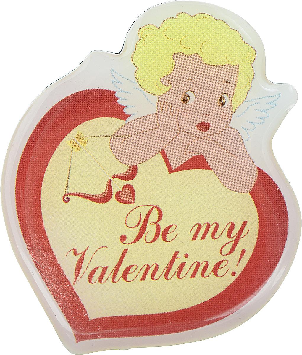 Магнит Феникс-презент Be My Valentine!, 6 x 5 см31524Магнит в форме сердца Феникс-презент Be My Valentine!, выполненный из агломерированного феррита, станет приятным штрихом в повседневной жизни. Оригинальный магнит, декорированный изображением Амура, поможет вам украсить не только холодильник, но и любую другую магнитную поверхность. Материал: агломерированный феррит.