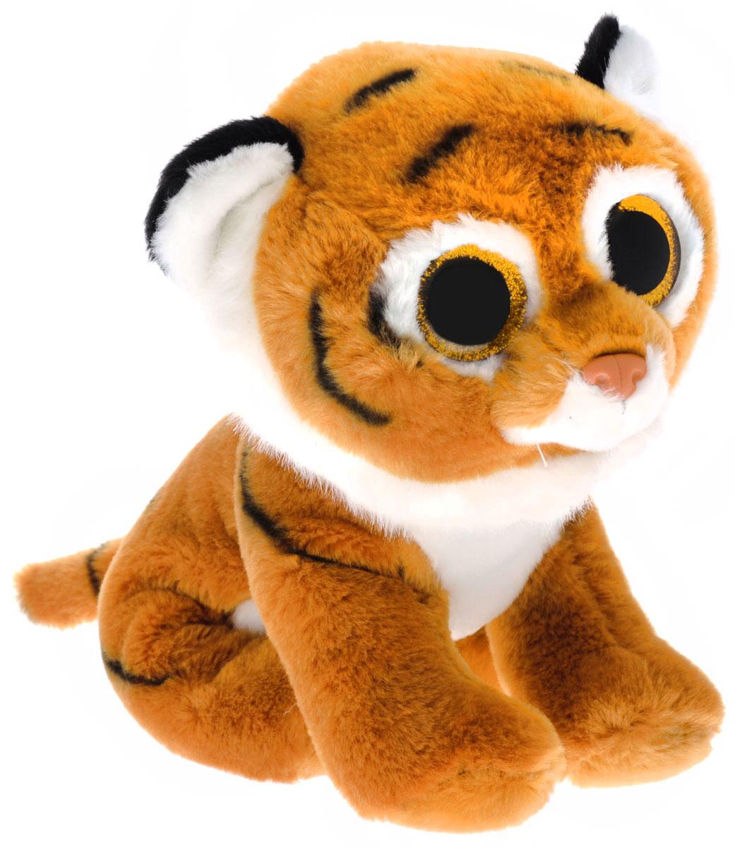 TY Мягкая игрушка Тигренок Tiggs цвет светло-коричневый 20 см шестое июля