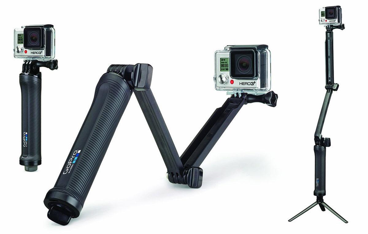 GoPro 3-Way, Black крепление для экшн-камеры - Фотоаксессуары