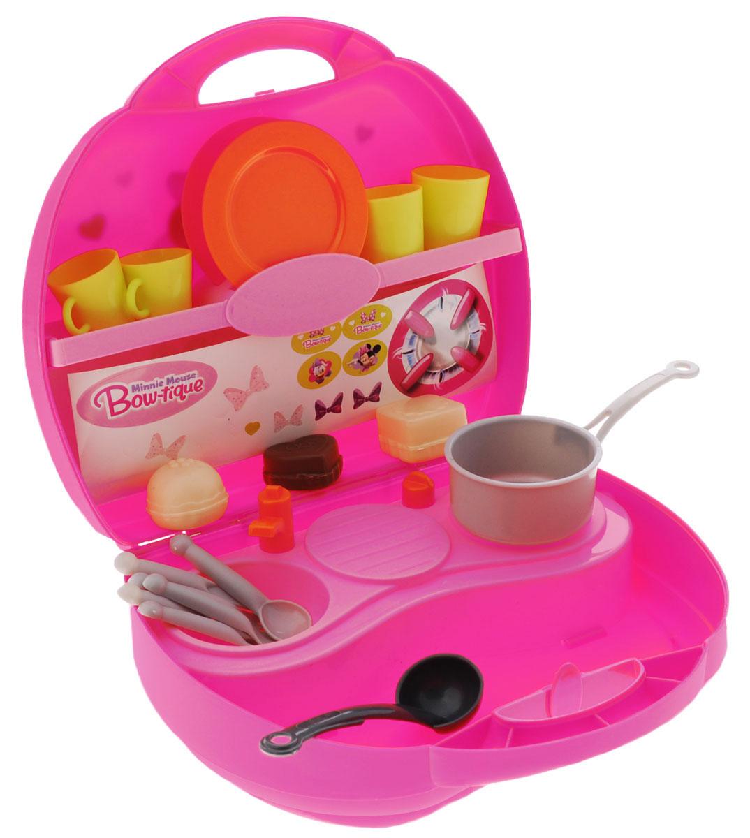 Smoby Игровой набор Мини кухня Minnie smoby игровой набор для уборки с тележкой