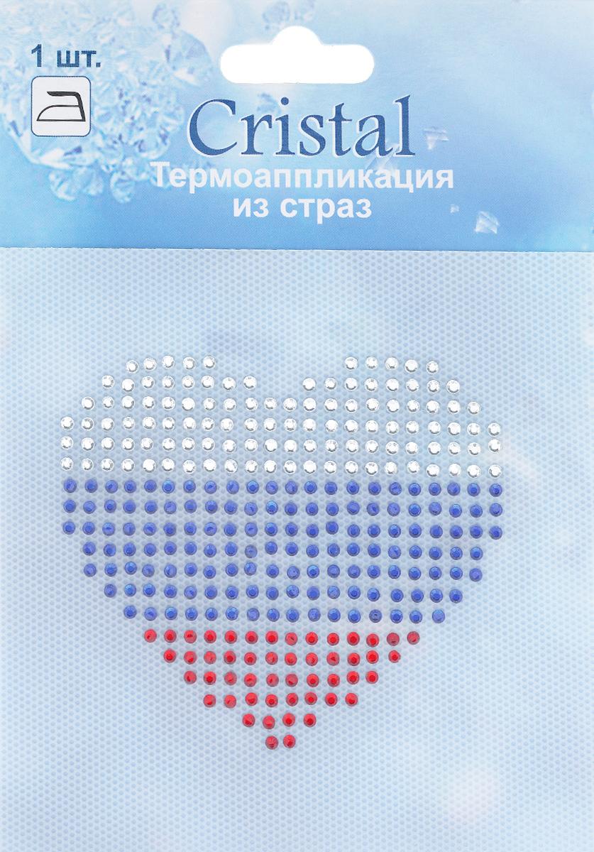 Термоаппликация из страз Cristal, 7,5 см х 8,5 см7712962_ADS053Термоаппликация из страз Cristal изготовлена из высококачественного стекла и выполнена в виде сердца. Она позволит вам украсить одежду, аксессуары или текстиль. Изделие с оборотной стороны оснащено клейкой поверхностью. Достаточно приложить стразы к ткани и прогладить утюгом. Украшение из страз Cristal поможет сделать любую вещь оригинальной и неповторимой.