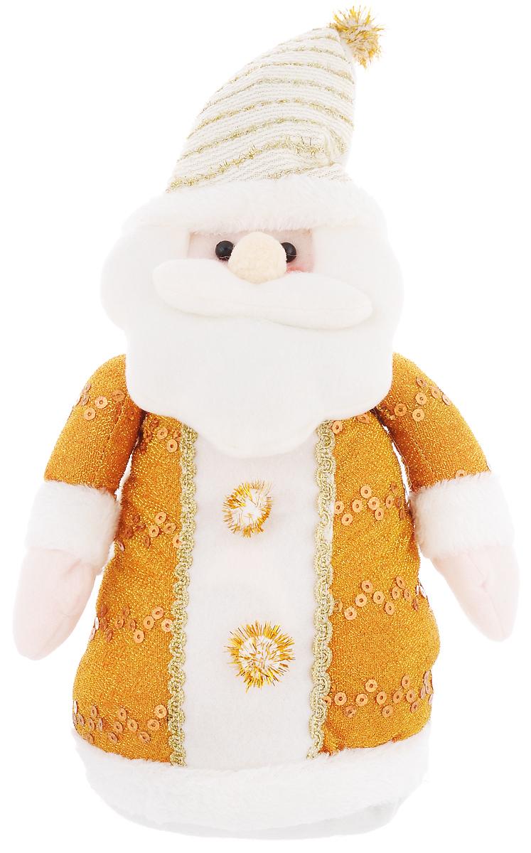 Фигура декоративная It's a Lunten Ranta Дед Мороз в длинной шубке, цвет: белый, золотистый, высота 30 см очки lunten ranta диадема 66151