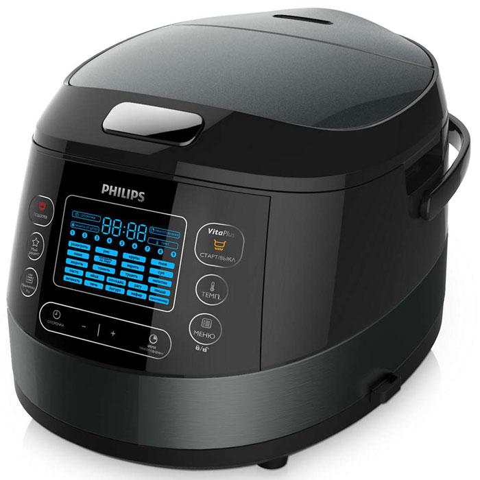Philips HD4749/03, Black мультиварка - Мультиварки