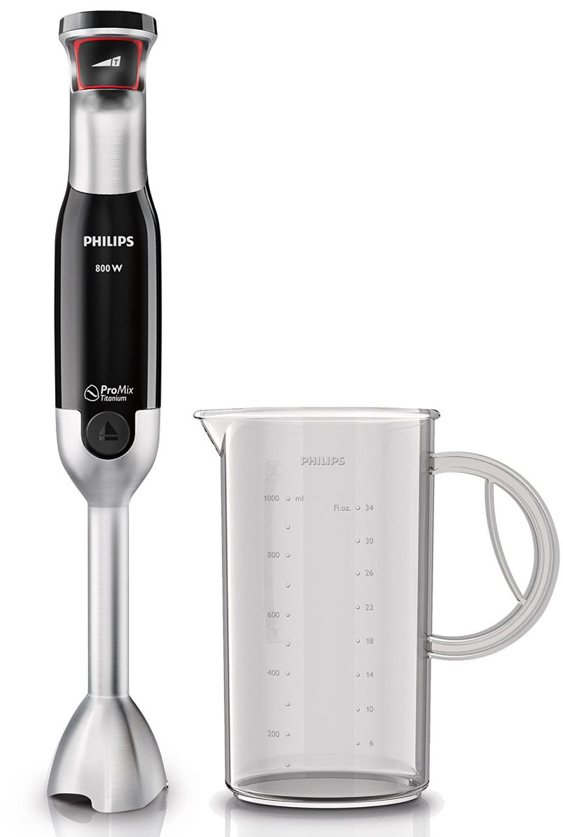Philips HR1670/90, Silver Black блендер
