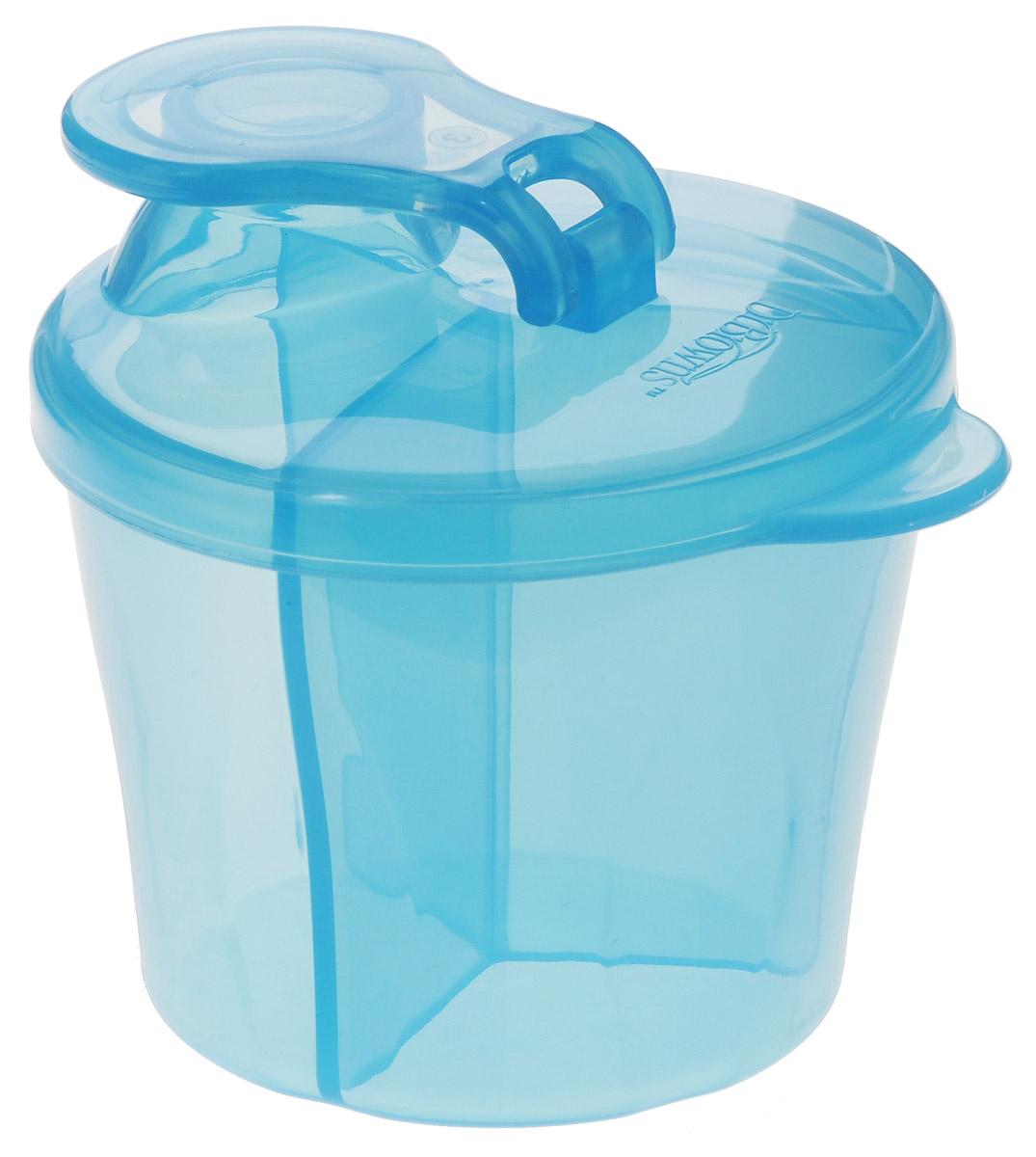 Dr.Brown's Дозатор сухой смеси цвет голубой смеси и сыпучие материалы