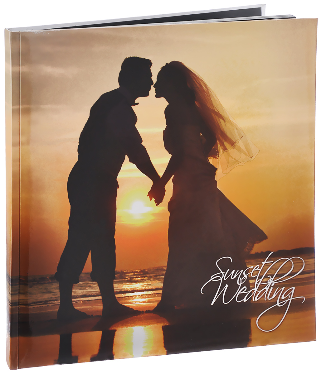 Фотоальбом Pioneer Sunset Wedding, 10 магнитных листов, 29 х 32 см фотоальбом pioneer innocence 10 магнитных листов 32 см х 32 см