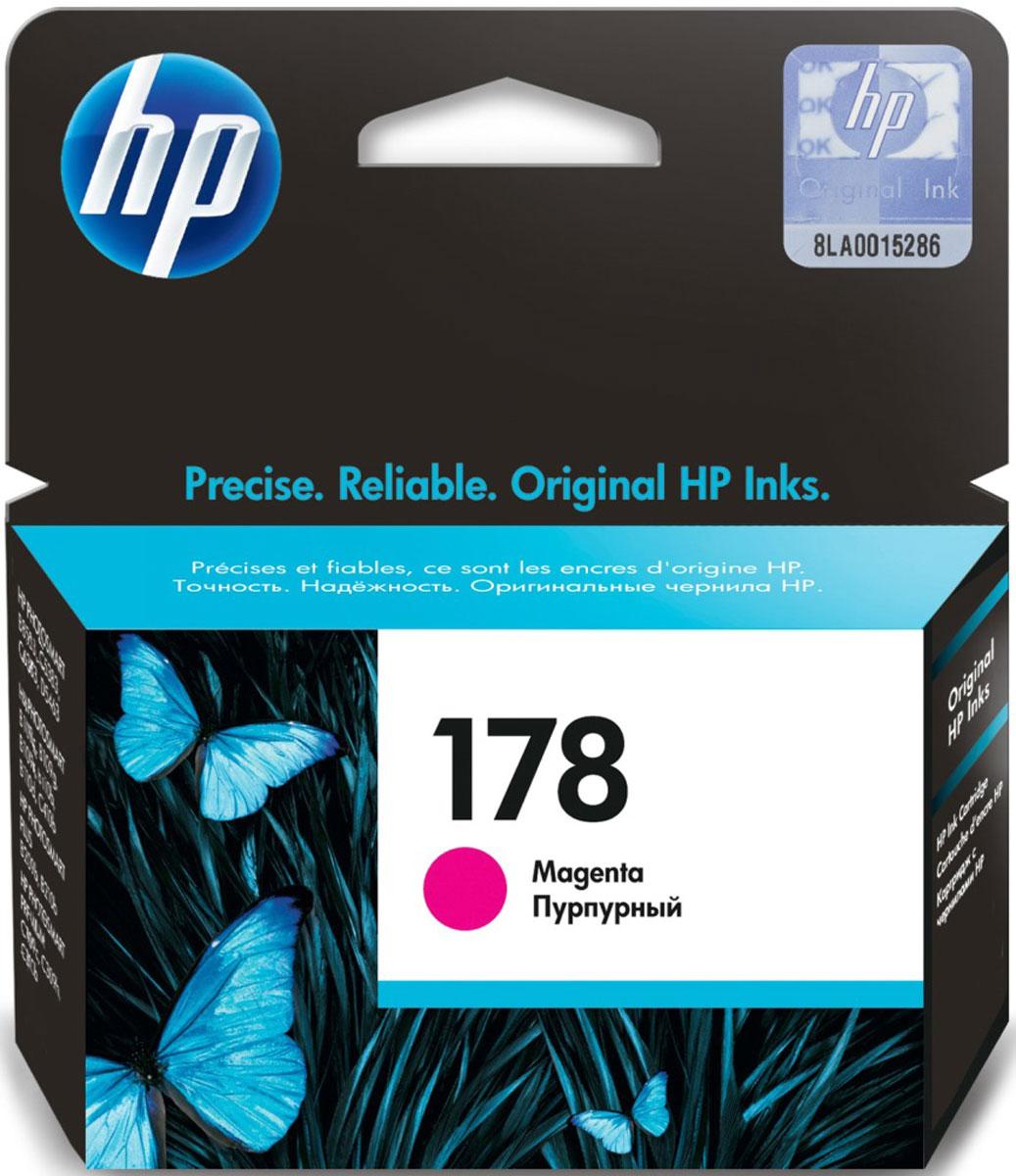 HP CB319HE (178), Magenta картридж для струйных МФУ/принтеров - Расходные материалы