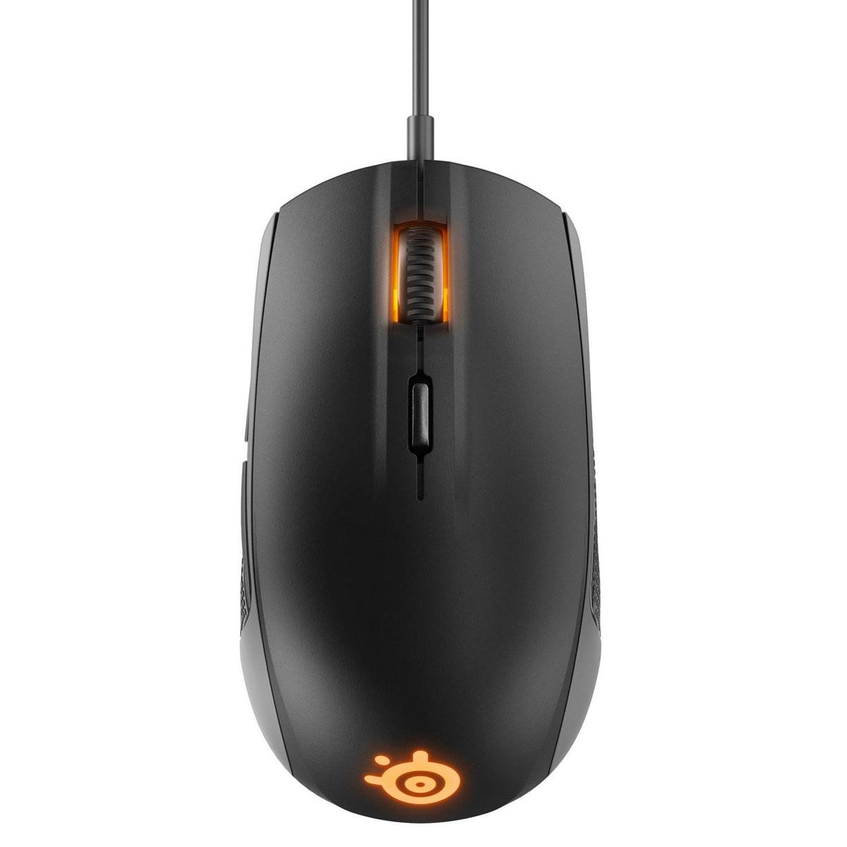 SteelSeries Rival 100 62341, Black игровая мышь race core steelseries kinzu v3 игровая мышь проводная мышь белый