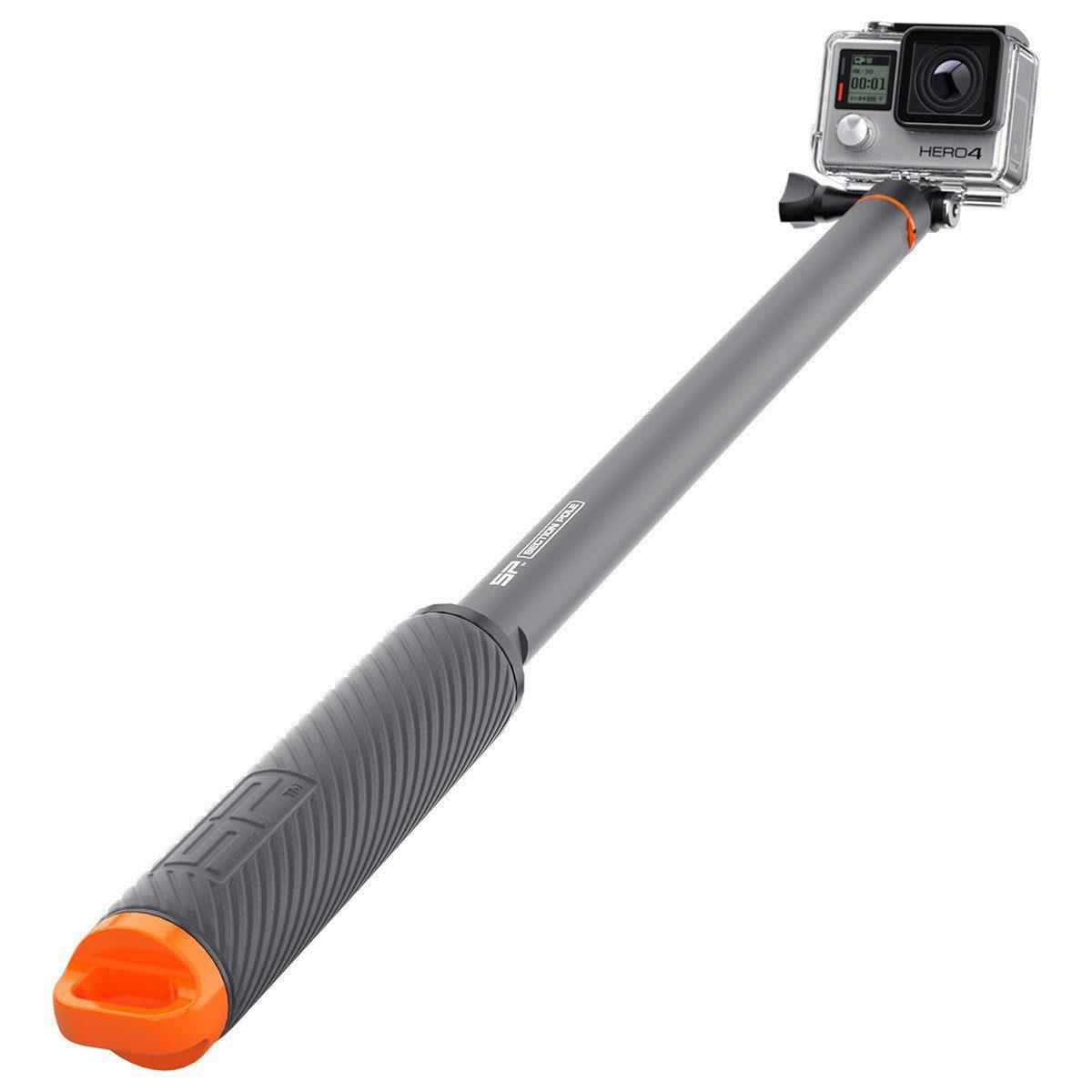 SP-Gadgets Section Pole, Black монопод для экшн-камеры53110SP-Gadgets Section Pole - это первый модульный нетонущий комплект, позволяющий делать ручку именно той длины, которая вам нужна и комбинировать с другими креплениями серии SP Gadgets.