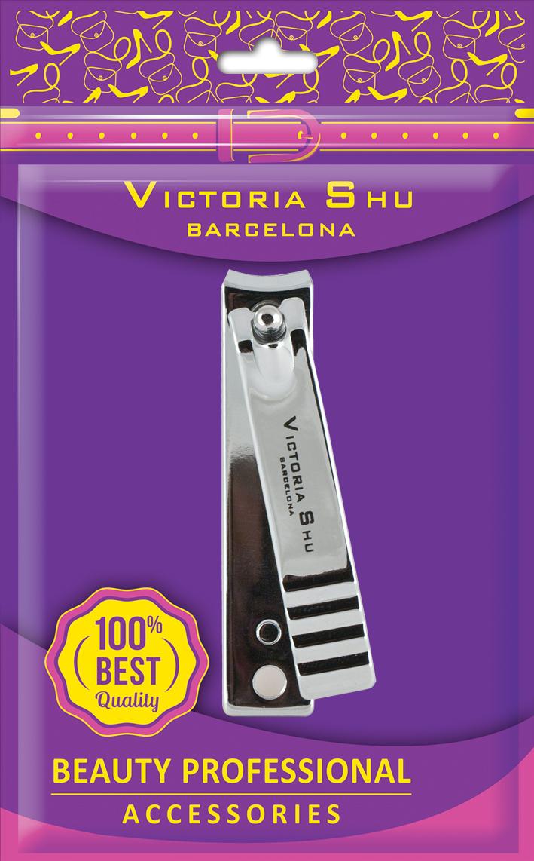 Victoria Shu Кусачки для маникюра металлические для ногтей M409, 24 г1068V18Универсальные кусачки предназначены для коррекции длины ногтя на руках. Изготовлены из высококачественной нержавеющей стали. Имеют специальный легкий рычаг рукоятки. Режущие кромки кусачек изогнутой формы, что гарантирует удобный и бережный маникюр. Рифленая ручка обеспечивает дополнительный комфорт в работе.