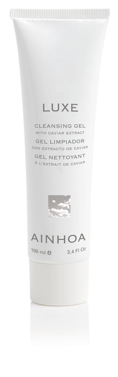 Ainhoa Luxe Гель для умывания с экстрактом черной икры, 10 0мл сыворотки ainhoa питательная сыворотка luxe gold