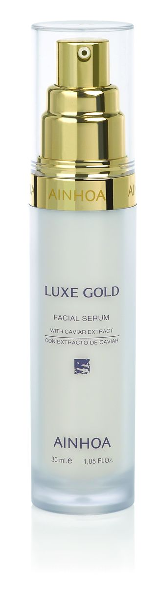 цена на Ainhoa Luxe Gold Питательная сыворотка с лифтинг-эффектом, экстрактом икры и золотой пудрой, 30 мл
