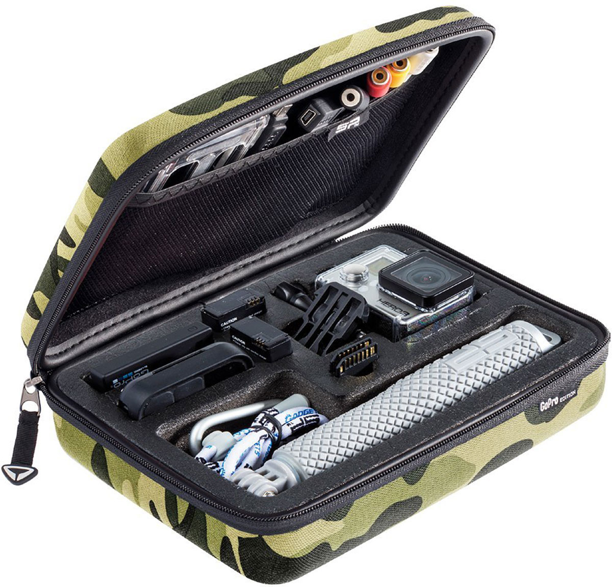 SP-Gadgets POV Case Small GoPro-Edition, Camel кейс для экшн-камеры sp gadgets pov buoy black монопод для экшн камеры