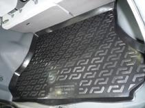 Коврик в багажник Hyundai Santa Fe classic (ТАГАЗ) (06-) полиуретан0104070201Коврики производятся индивидуально для каждой модели автомобиля из современного и экологически чистого материала, точно повторяют геометрию пола автомобиля, имеют высокий борт от 4 см до 6 см., обладают повышенной износоустойчивостью, антискользящими свойствами, лишены резкого запаха, сохраняют свои потребительские свойства в широком диапазоне температур (-50 +80 С).