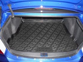 Коврик в багажник Lifan Breez (520) sd (06-) полиуретан0131010201Коврики производятся индивидуально для каждой модели автомобиля из современного и экологически чистого материала, точно повторяют геометрию пола автомобиля, имеют высокий борт от 4 см до 6 см., обладают повышенной износоустойчивостью, антискользящими свойствами, лишены резкого запаха, сохраняют свои потребительские свойства в широком диапазоне температур (-50 +80 С).