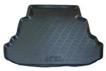 Коврик в багажник L.Locker для Lifan Solano 620, цвет: черный0131020101Коврики L.Locker производятся индивидуально для каждой модели автомобиля из современного и экологически чистого материала, точно повторяют геометрию пола автомобиля, имеют высокий борт от 4 см до 6 см. Обладают повышенной износоустойчивостью, антискользящими свойствами, лишены резкого запаха, сохраняют свои потребительские свойства в широком диапазоне температур (от -50°C до +80°С).Коврик предназначен специально для автомобиля Lifan Solano 620.