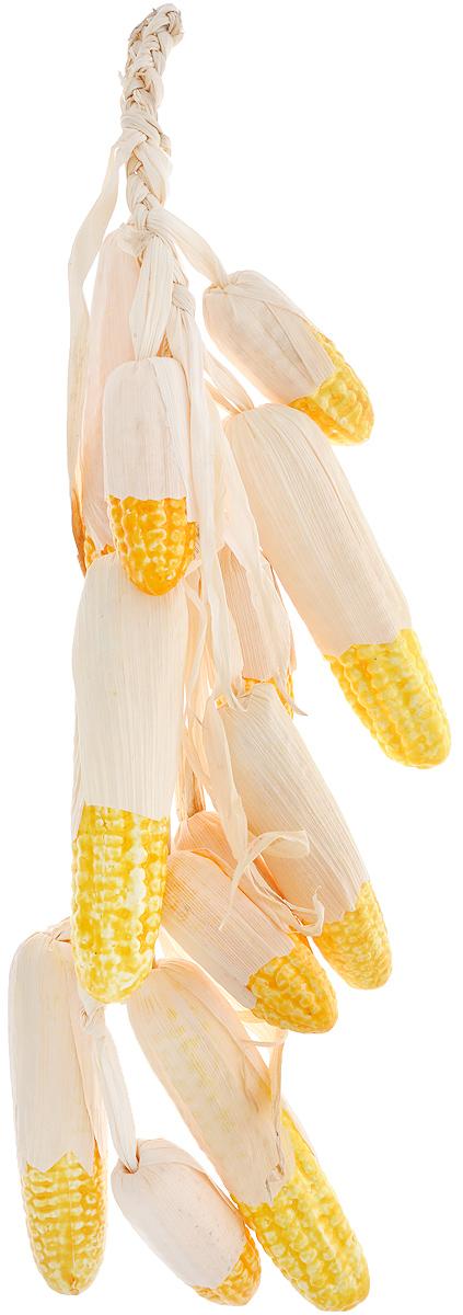 Муляж Кукуруза в связке, цвет: желтый, 60 смC60Муляж Кукуруза в связке изготовлен из полиуретана, окрашен в естественные цвета. Предназначен для украшения интерьера дома.Длина связки: 60 см.