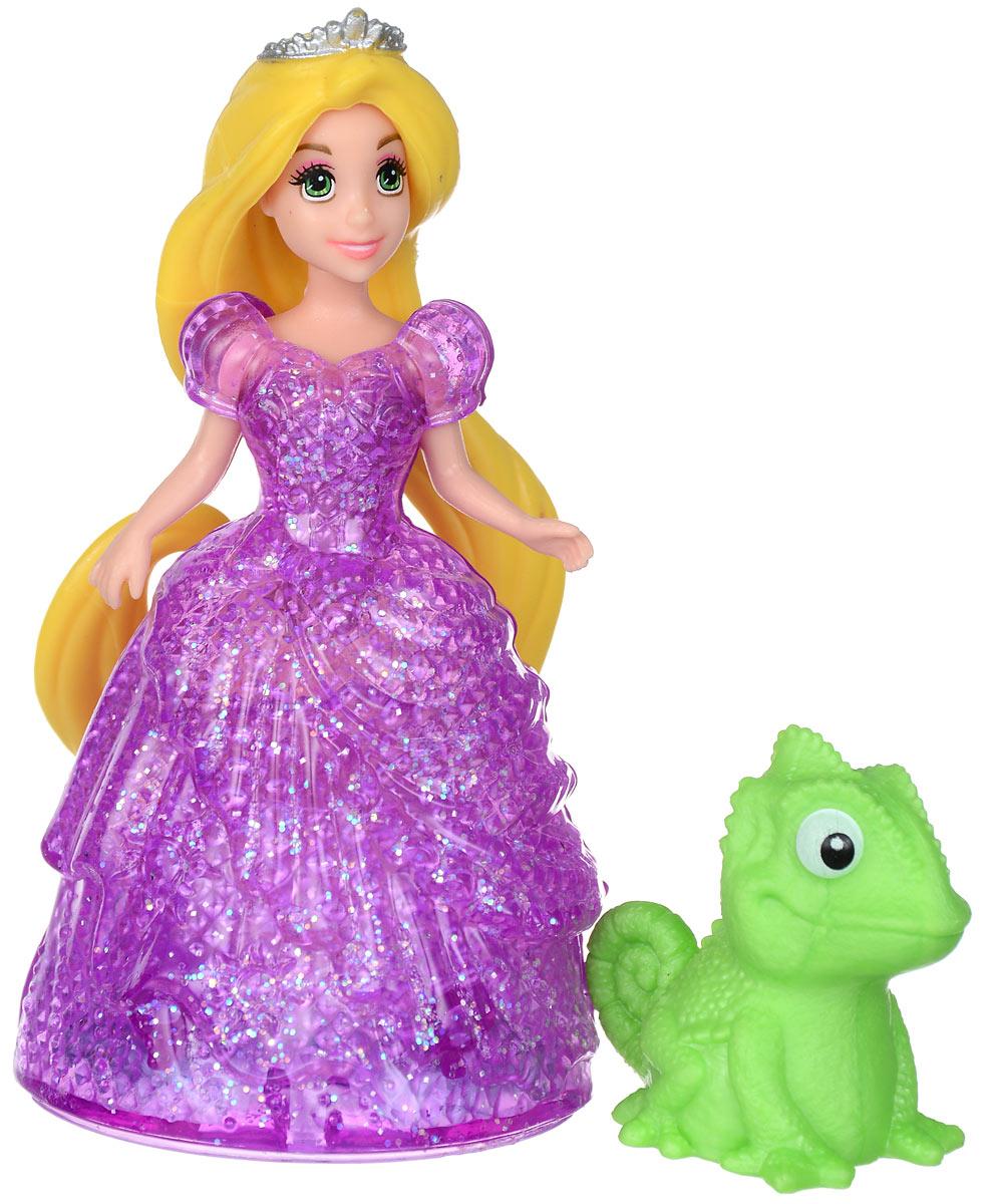 Disney Princess Мини-кукла Принцесса Рапунцель кукла рапунцель со светящимися волосами принцессы дисней