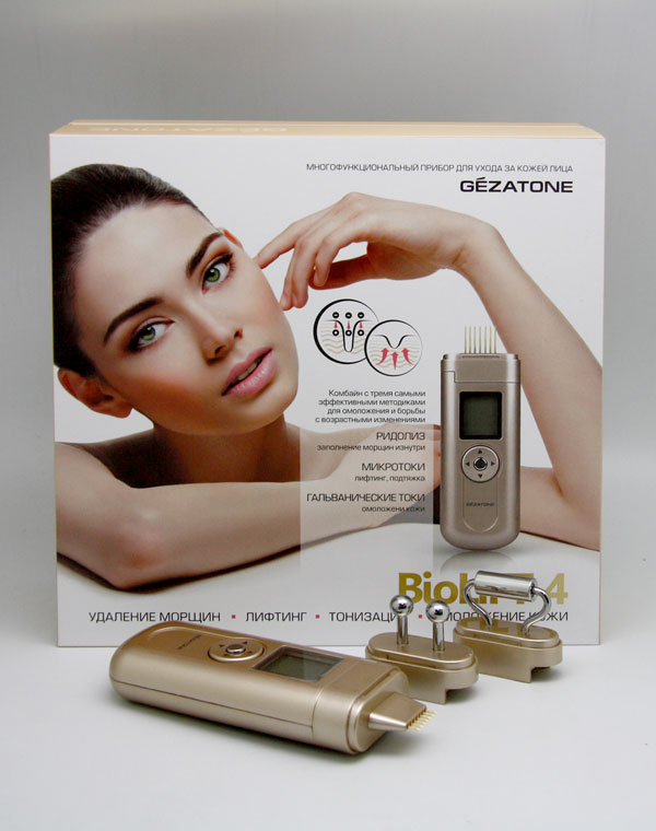 Gezatone Массажер для лица Beauty Iris Gezatone m709