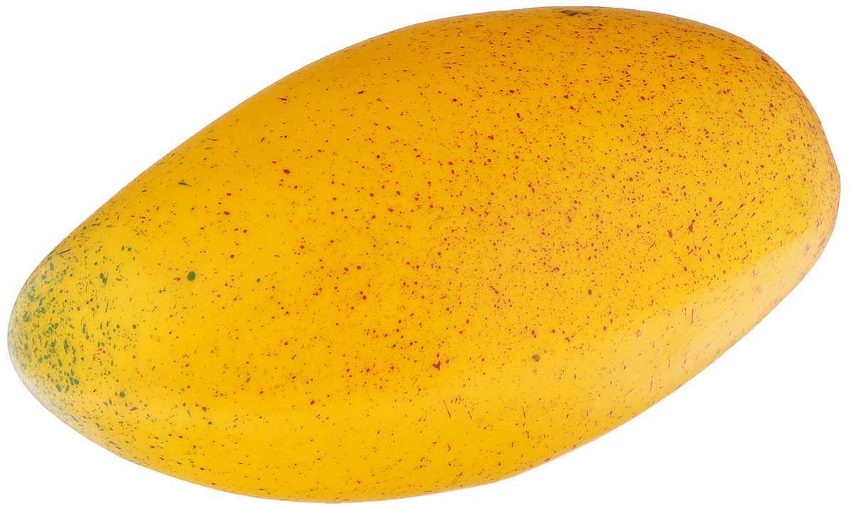 Муляж Манго, цвет: желтый, 13 смMG130Муляж Манго изготовлен из полиуретана, окрашен в естественные цвета. Предназначен для украшения интерьера дома.Высота муляжа: 13 см.