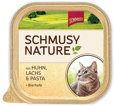 Консервы для кошек Schmusy, с курицей и лососем, 100 г70031Консервы для кошек Schmusy - это полноценная еда с множеством натуральных ингредиентов для кошек и котов. Корм богат содержанием отборного мяса, потому что кошки - это настоящие хищники, они нуждаются в пище, богатой белками. В этих ванночках маленькие кусочки мяса смешаны с паштетом. Кроме отборного мяса в состав входят пивные дрожжи, которые укрепляют имунную систему кошек. Также добавлен таурин для правильного развития организма кошек.Не содержит сои, красителей, ароматизаторов, костной муки, консервантов.Состав: мясо и мясные субпродукты (10% курицы), рыба и рыбные субпродукты (5% лосося), хлебобулочные изделия (3% пасты), минеральные вещества, дрожжи (0,1% пивных дрожжей). Гарантированный анализ: белок - 9%, жир - 5%, клетчатка - 0,5%, зола - 2%, влажность - 81%. Витамины и минералы: витамин D3 - 200 МЕ/кг, витамин E - 20 мг/кг, таурин - 500 мг/кг, медь - 2 мг/кг, марганец - 1,5 мг/кг, цинк - 5 мг/кг.Товар сертифицирован.