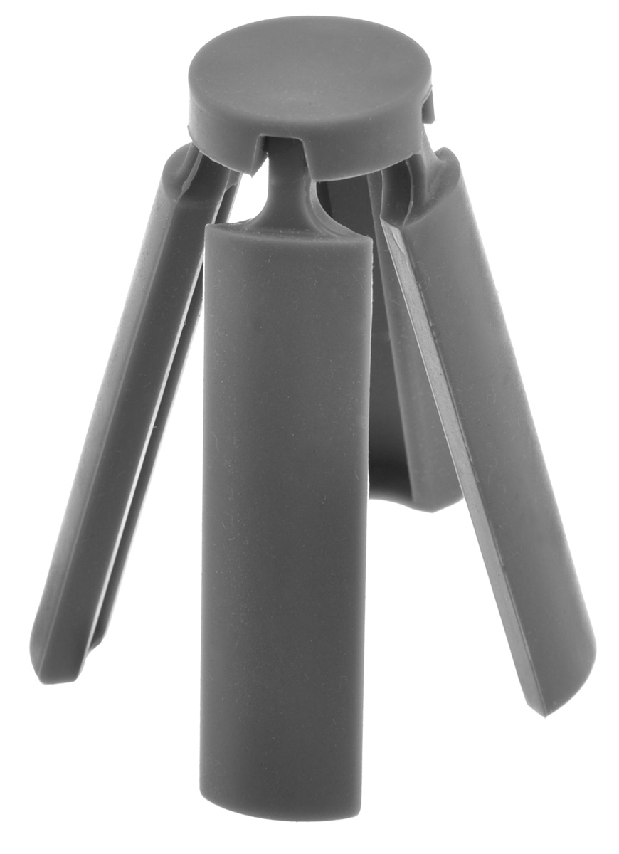 Подставка под горячее Marmiton, складная, цвет: серый, 21,6 х 21,6 см12136Подставка под горячее Marmiton изготовлена из термостойкого силикона, которыйвыдерживает температуру до +240°С. Подставка предназначена для горячей посуды, онапоможет защитить поверхность столешниц и столов. Изделие складное, в сложенном виде незаймет много места в кухонном ящике. Можно мыть в посудомоечной машине. Размер (в сложенном виде): 3,5 см х 3,5 см х 10 см. Размер (в разложенном виде): 21,6 см х 21,6 см х 1 см.