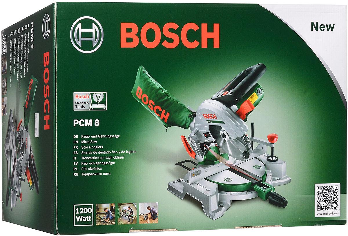 Пила торцовочная Bosch PCM 80603B10000Bosch PCM 8 выгодно отличается возможностью мобильного использования благодаря компактному исполнению и малому весу. Встроенный лазер в качестве указателя линии реза обеспечивает высокую точность в ходе пиления. Пила проста в управлении и гарантирует вам профессиональные результаты работы. Большие рычаги, мягкая накладка и четкая шкала. Встроенная система пылеудаления обеспечивает чистую работу. Входящий в комплект рабочий зажим гарантирует надежную фиксацию заготовки.Производительность резания при 0°/0°: 60 мм х 120 мм.Производительность резания при 45°/0°: 60 мм х 85 мм.Производительность резания при 0°/45°: 37 мм х 120 мм.Производительность резания при 45°/45°: 37 мм х 85 мм.Размер платформы: 40 см х 26 см х 6,5 см.