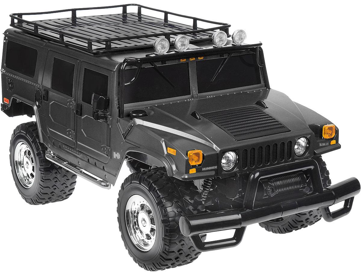 Rastar Радиоуправляемая модель Hummer H1 Suv цвет черный - Радиоуправляемые игрушки