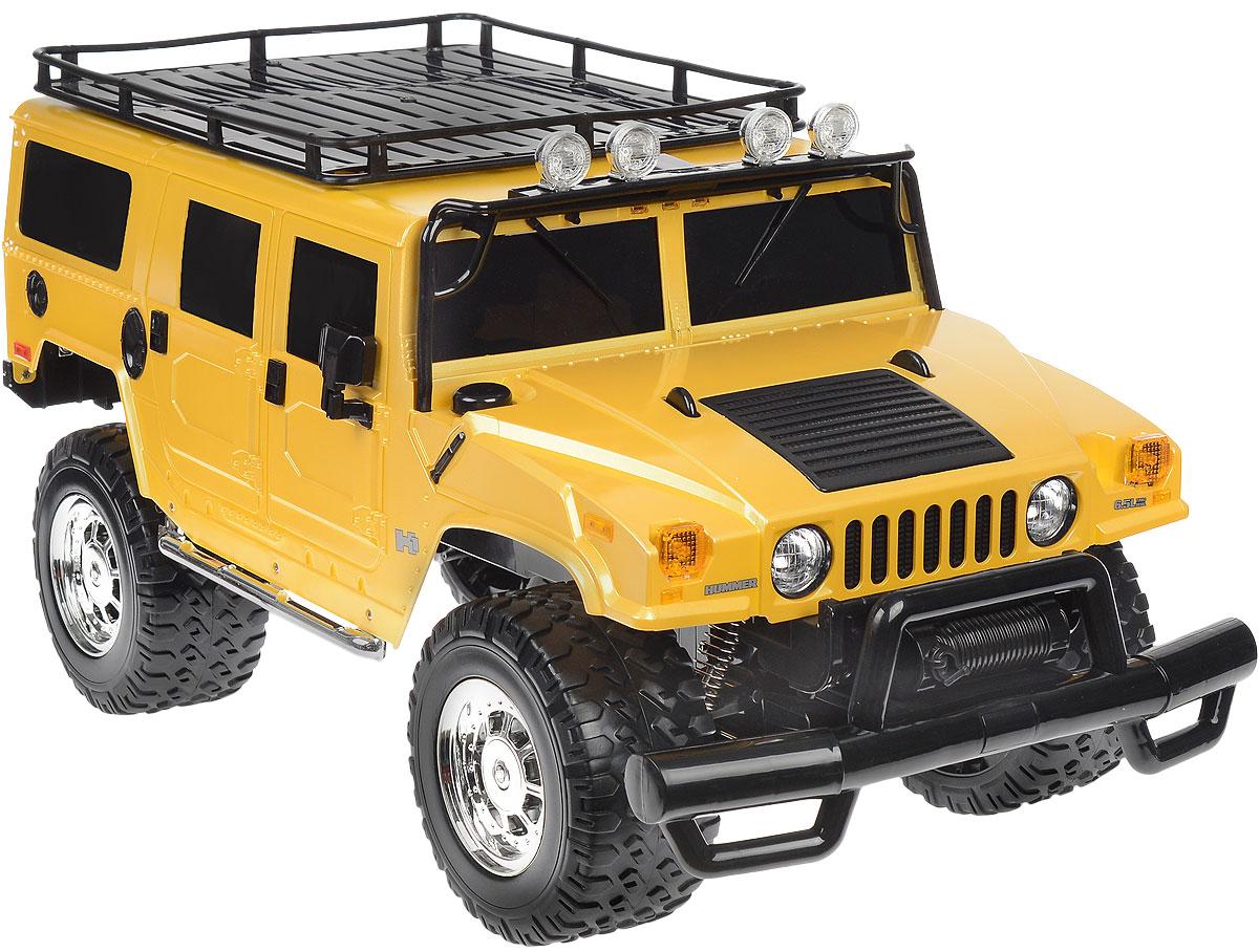 Rastar Радиоуправляемая модель Hummer H1 Suv цвет желтый rastar 1 27 hummer h2 черный 28500