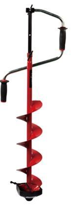 Ледобур VISTA RHXL-4110 (удлин. шнек) 110мм., сферические ножи479791.Двуручный. Вращение правое (по часовой стрелке)2. Ручки – морозоустойчивый, рифленый пластик.3. Современная конструкция замка. 4. Выдвижная штанга-удлинитель. 5. Шнек (модель RHXL с удлиненным шнеком), витки шнека без сварки.6. Режущая головка ледобура имеет ребро жесткости.7. Ножи – сферические.8. Упаковка – индивидуальная картонная коробка.9. Диаметр сверления 110 мм10. Вес 3,5 кг.
