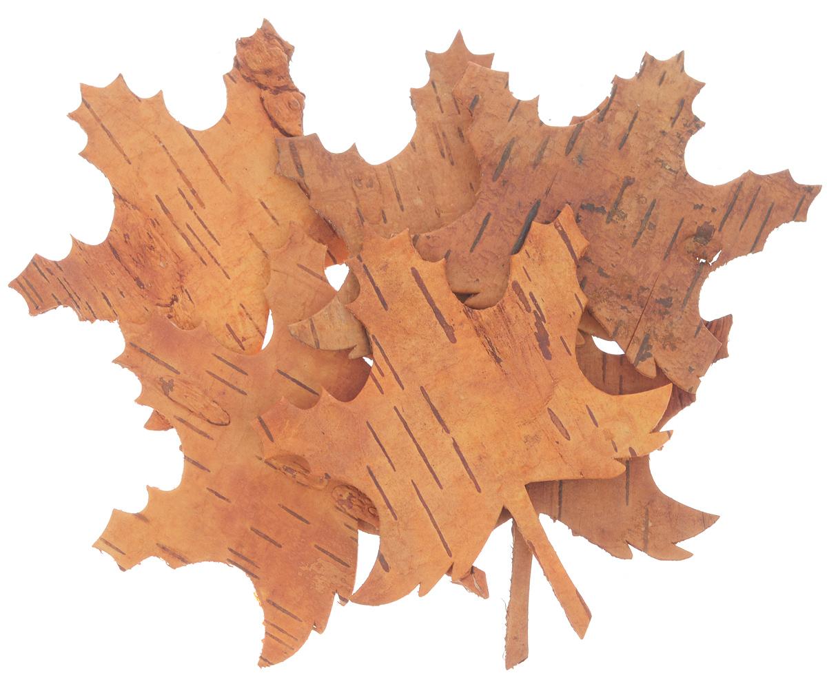 Декоративный элемент Dongjiang Art, цвет: оранжевый, 6 шт. 77090137709013_ оранжевыйДекоративные элементы Dongjiang Art, изготовленные из натуральной коры дерева в виде кленовых листьев, предназначены для украшения цветочных композиций. Такие элементы могут пригодиться во флористике и многом другом.Флористика - вид декоративно-прикладного искусства, который использует живые, засушенные или консервированные природные материалы для создания флористических работ. Это целый мир, в котором есть место и строгому математическому расчету, и вдохновению.Средний размер элементов: 8,5 см х 10 см.