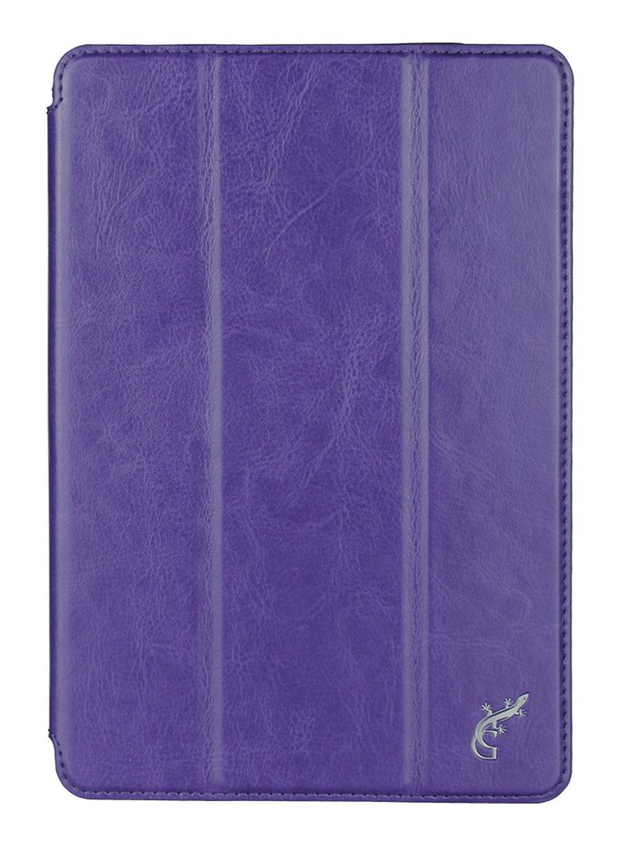 G-Case Slim Premium чехол для Apple iPad mini 4, PurpleGG-656Чехол G-Case Slim Premium для Apple iPad mini 4 - это стильный и лаконичный аксессуар, позволяющий сохранить устройство в идеальном состоянии. Надежно удерживая технику, обложка защищает корпус и дисплей от появления царапин, налипания пыли. Имеет свободный доступ ко всем разъемам устройства.