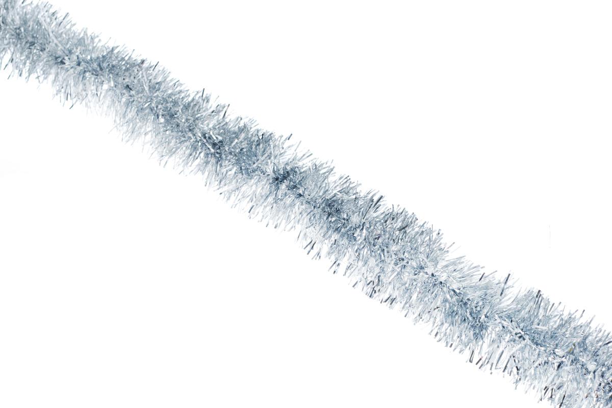 Мишура новогодняя Sima-land, цвет: серебристый, диаметр 5 см, длина 160 см. 627195627195_серебристыйНовогодняя мишура Sima-land, выполненная из фольги, поможет вам украсить свой дом к предстоящим праздникам. А новогодняя елка с таким украшением станет еще наряднее. Мишура армирована, то есть имеет проволоку внутри и способна сохранять приданную ей форму.Новогодней мишурой можно украсить все, что угодно - елку, квартиру, дачу, офис - как внутри, так и снаружи. Можно сложить новогодние поздравления, буквы и цифры, мишурой можно украсить и дополнить гирлянды, можно выделить дверные колонны, оплести дверные проемы.Коллекция декоративных украшений принесет в ваш дом ни с чем несравнимое ощущение праздника! Создайте в своем доме атмосферу тепла, веселья и радости, украшая его всей семьей.