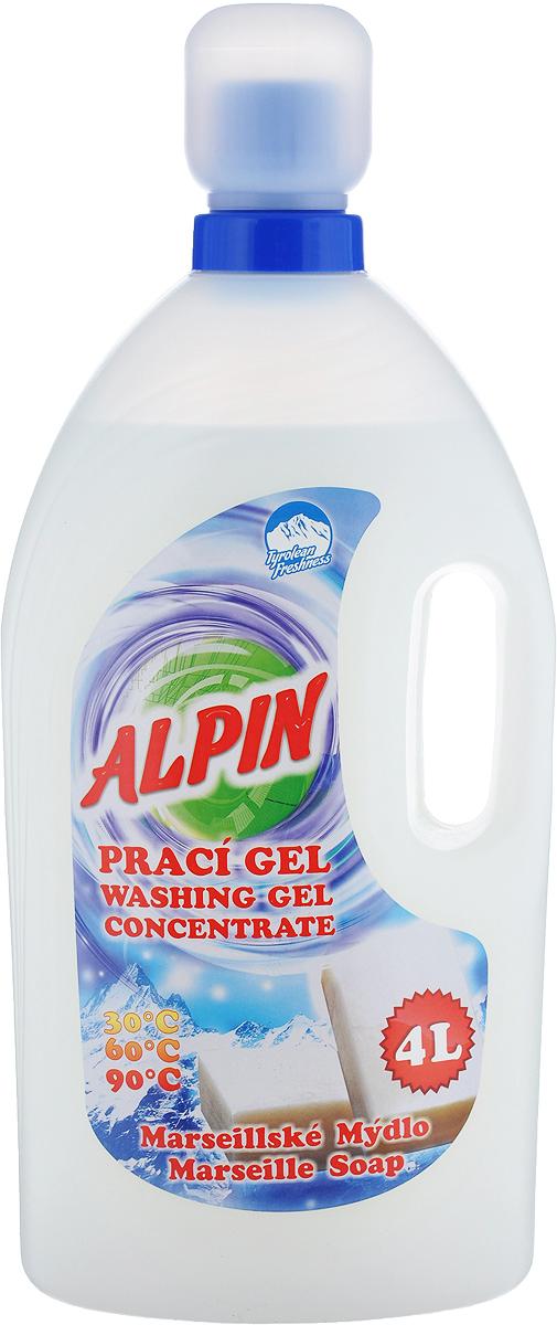 Жидкое средство Alpin Marseille Soap для стирки белья, 4 л насос sks x alpin 10035sks